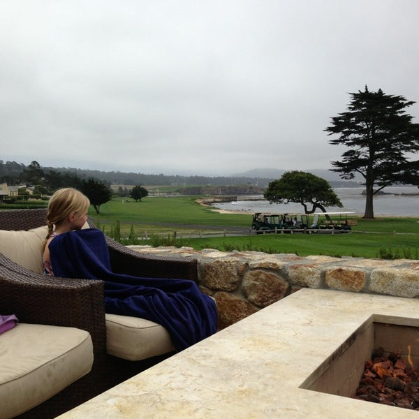Photo taken at The Lodge at Pebble Beach by Chris G. on 7/19/2013