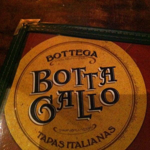 Photo taken at Bottega Bottagallo by Rubens M. on 1/19/2013