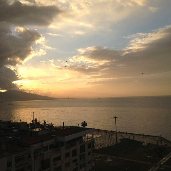 1/13/2013 tarihinde Caglar K.ziyaretçi tarafından Ege Palas Business Hotel'de çekilen fotoğraf