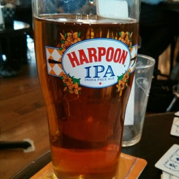 Photo taken at Harpoon Tap Room by Deb T. on 10/24/2014