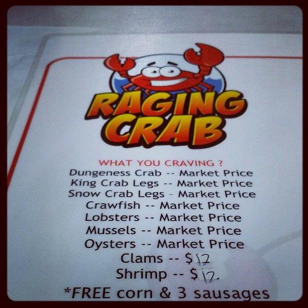 Photo taken at Raging Crab by Matt G. on 8/1/2013