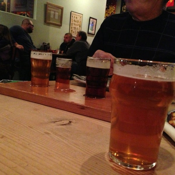 Photo taken at 3 Floyds Brewery & Pub by Ashley L. on 1/5/2013