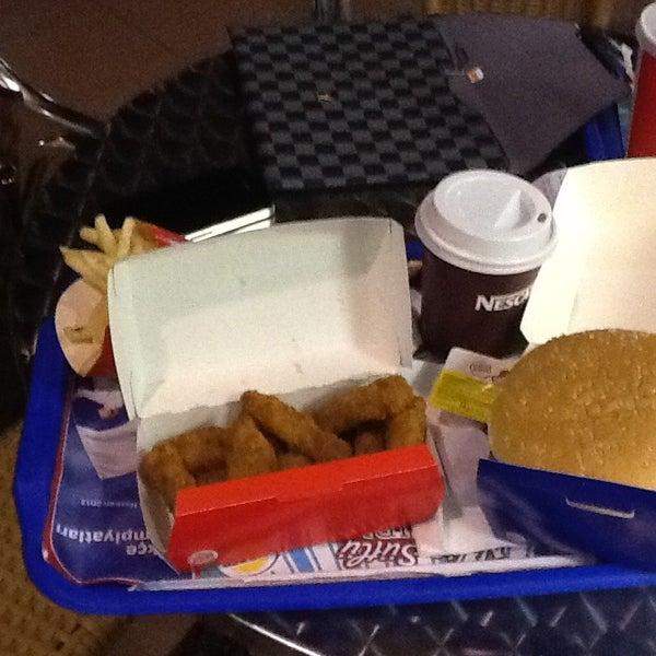 Photo taken at Burger King by Katerina on 6/18/2013