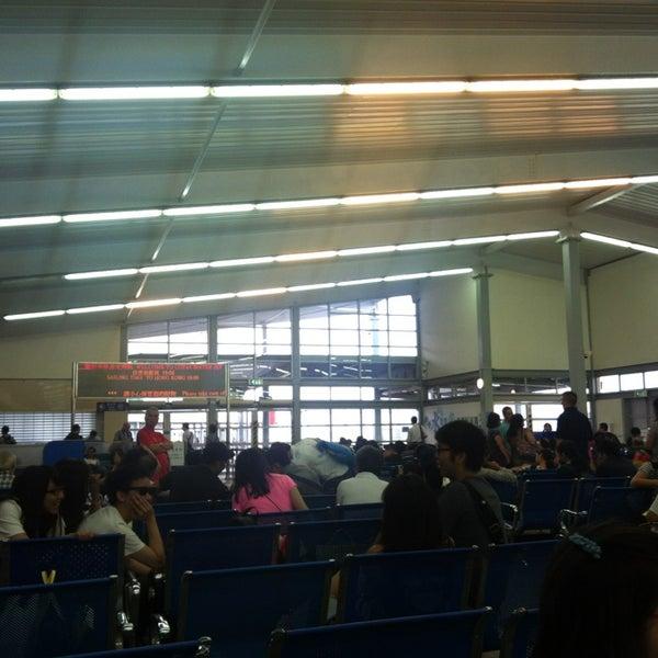 Photo taken at Taipa Ferry Terminal by Jihoon P. on 7/8/2013