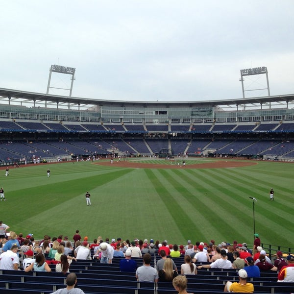 Photo taken at TD Ameritrade Park by Suzanne S. on 6/15/2013