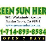 GREEN SUN HERBS - Herbs & Spices Store in Garden Grove