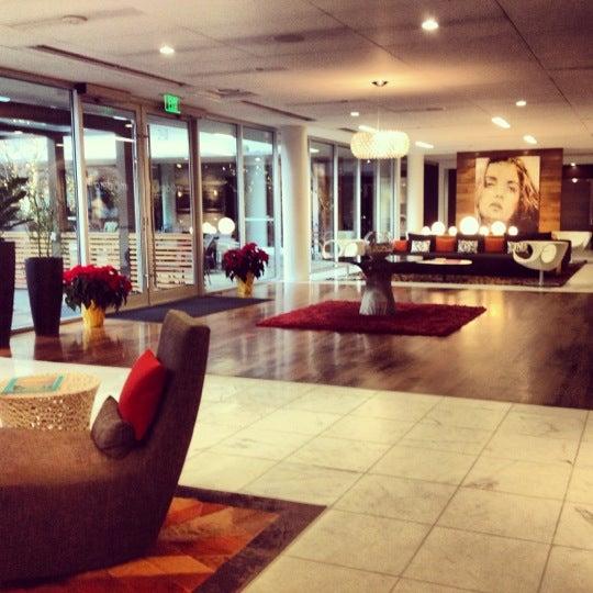 Photo taken at Hotel Modera by Jo G. on 12/15/2012