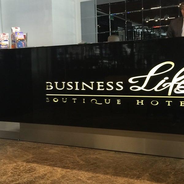 5/29/2016 tarihinde am🚀🧚♀️ziyaretçi tarafından Business Life Hotel'de çekilen fotoğraf