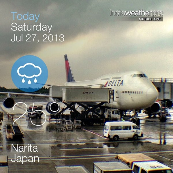 Photo taken at Narita International Airport (NRT) by Mark B. on 7/27/2013