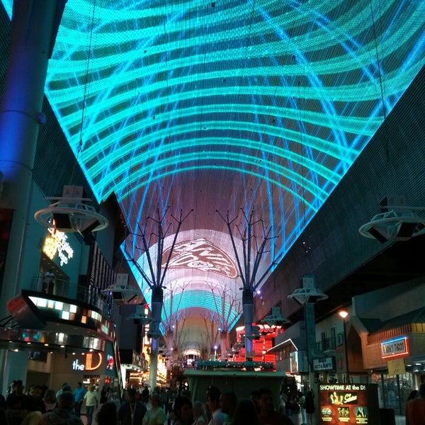 Photo taken at Fremont Street Experience by Jean L. on 6/5/2013