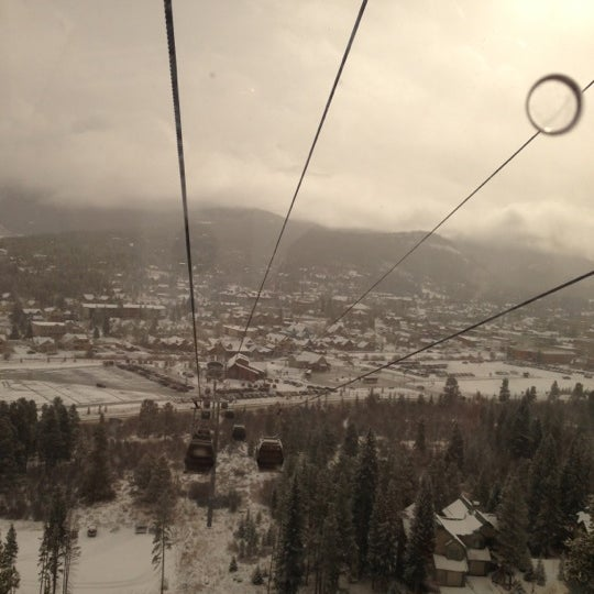 Photo taken at Breck Connect Gondola by Dean C. on 11/10/2012