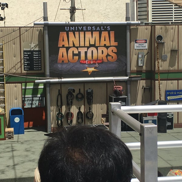 Photo taken at Universal's Animal Actors by Adriana M. on 5/22/2016