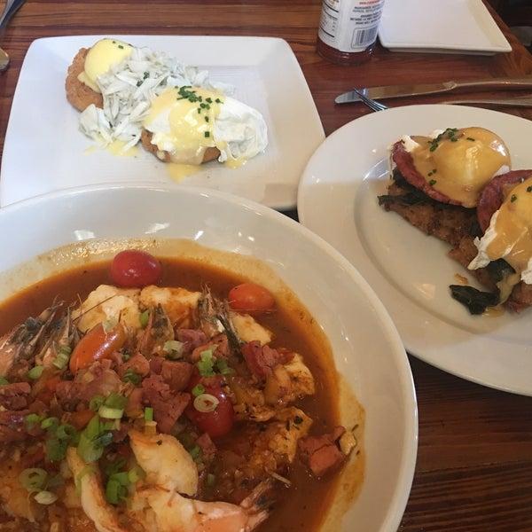 Photo taken at Atchafalaya Restaurant by Adrienne R. on 4/22/2017