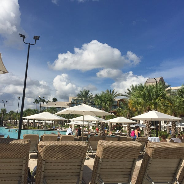 Photo taken at Marriott World Center Pool by Alanna C. on 11/8/2015