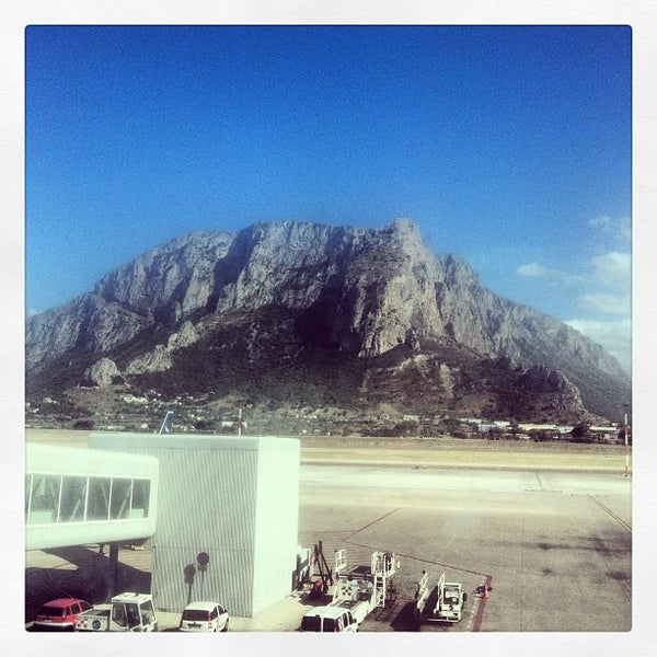 Photo taken at Palermo Airport (PMO) by Andrea C. on 5/24/2013