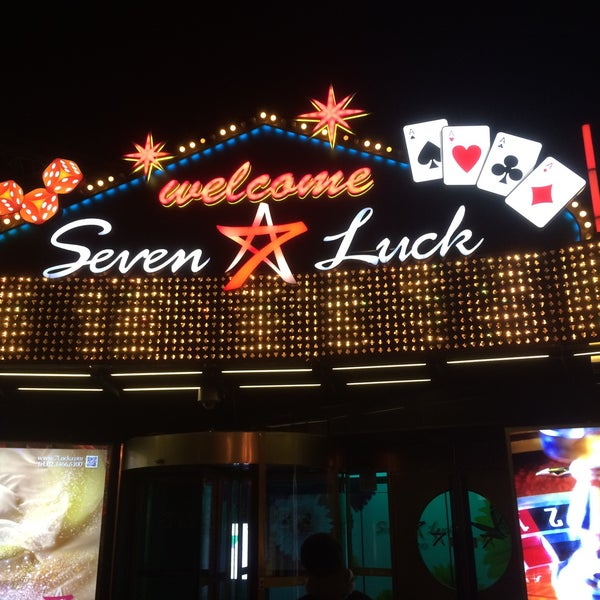 Photo taken at Seven Luck Casino by Hiroaki S. on 12/11/2015