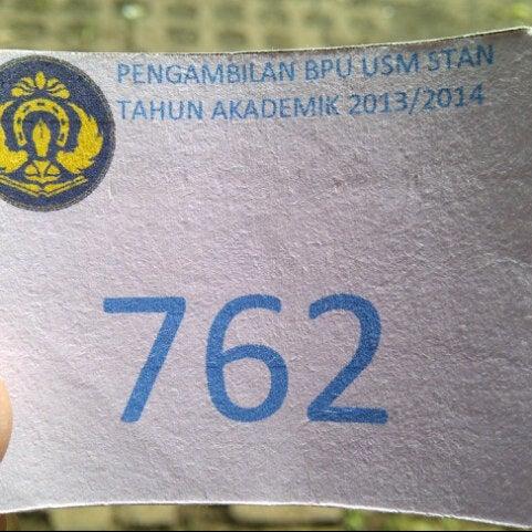 Photo taken at Sekolah Tinggi Akuntansi Negara (STAN) by Adi T. on 7/10/2013