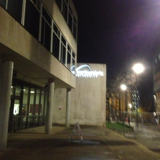 Photo taken at Northumbria University Library by Khairul Izham M. on 11/20/2012
