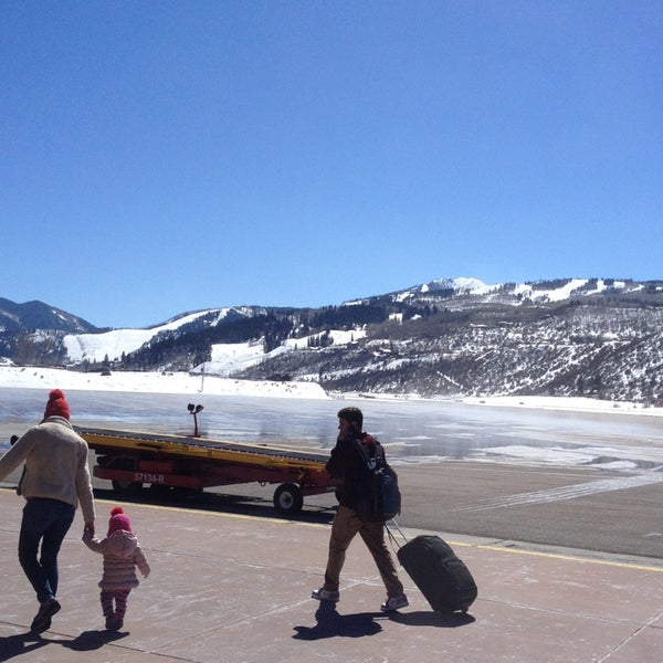 Photo taken at Aspen/Pitkin County Airport (ASE) by Alex J. on 3/25/2013