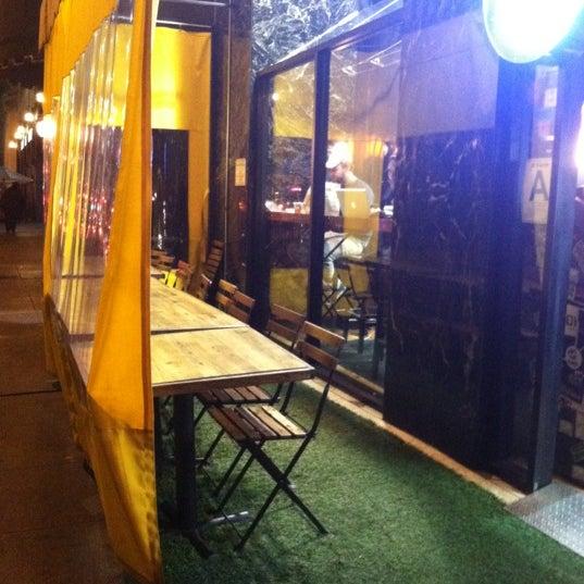Photo taken at LA Café by Martha D. on 1/16/2013