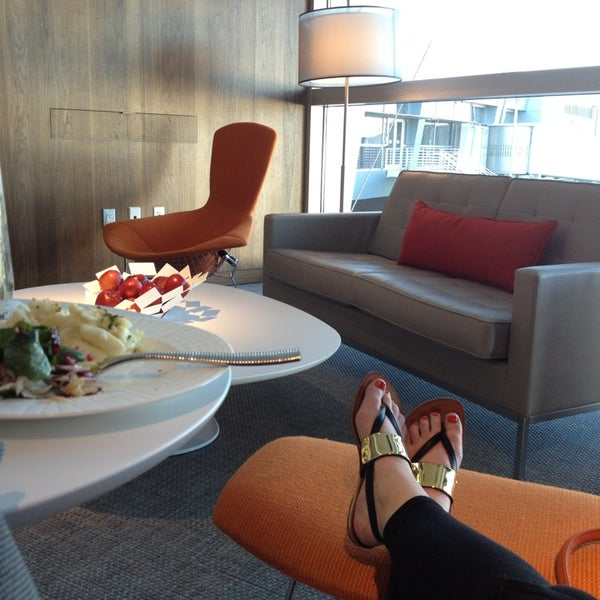 Photo taken at The Centurion Lounge Las Vegas by Caitlin O. on 5/20/2013