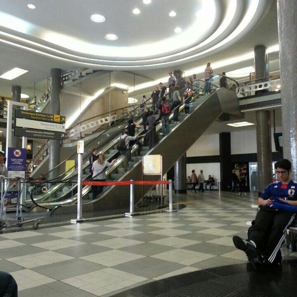 Снимок сделан в Международный аэропорт Конгоньяс/Сан-Паулу (CGH) пользователем Marco M. 10/11/2013