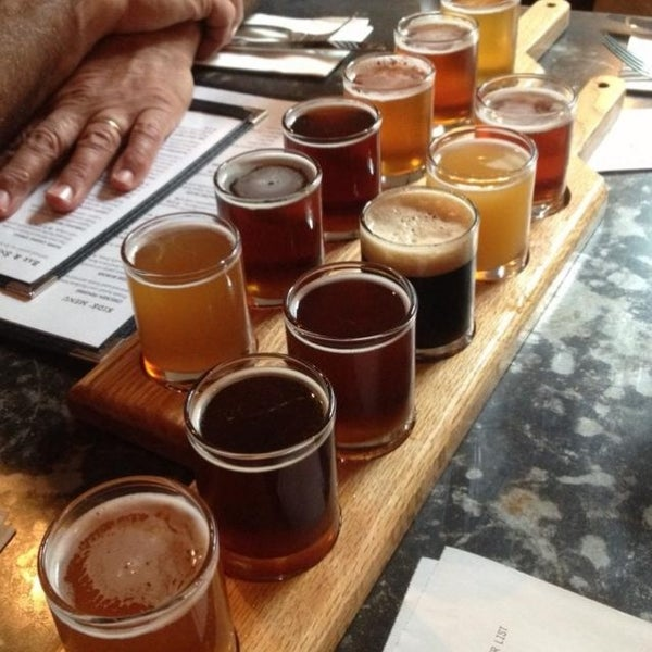 Photo taken at Portsmouth Brewery by Deuce on 7/26/2013