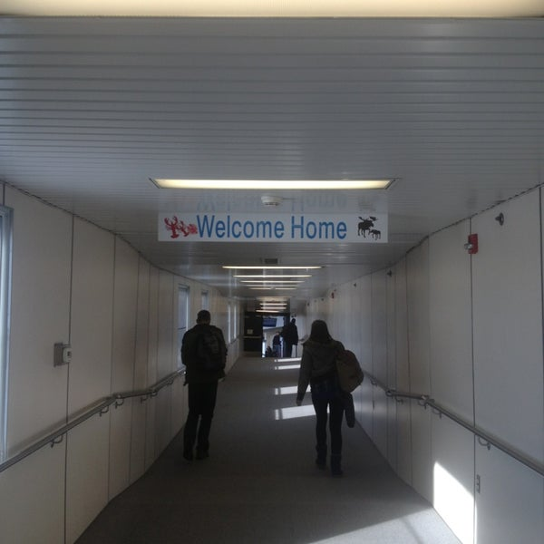 Photo taken at Portland International Jetport (PWM) by Riley B. on 12/31/2012
