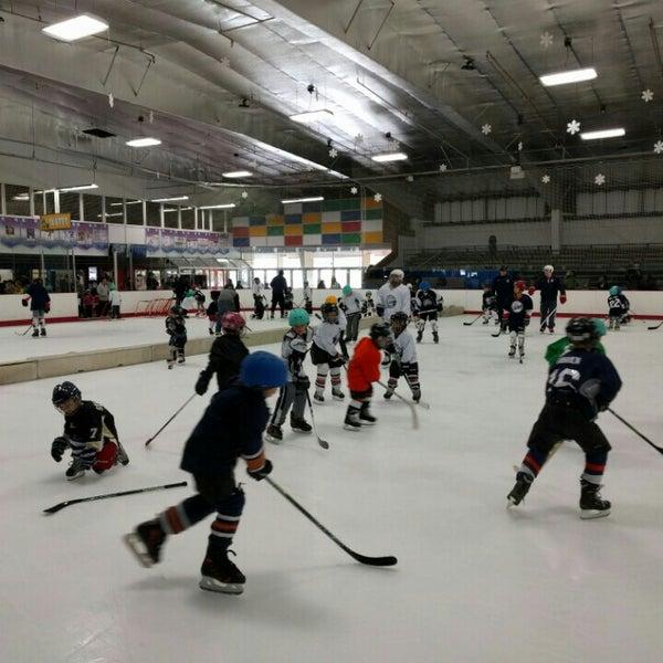 Photo taken at San Diego Ice Arena by Matt G. on 1/23/2016
