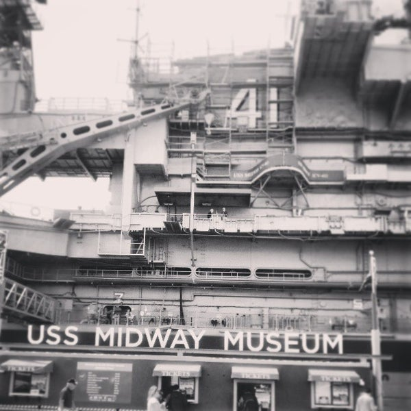 Photo taken at USS Midway Museum by Julio C. on 5/8/2013
