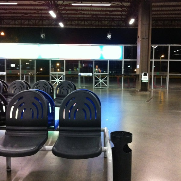 Photo taken at Terminal Rodoviário José Garcia Villar by Tiago O. on 3/23/2013
