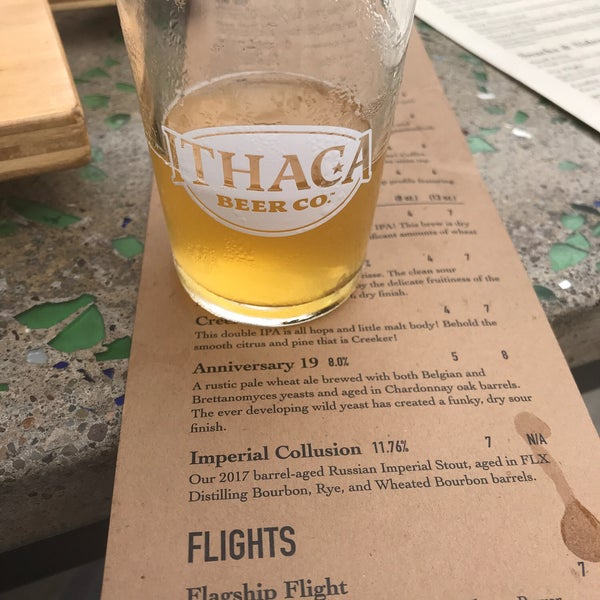 Photo taken at Ithaca Beer Co. Taproom by Ryan on 8/2/2018