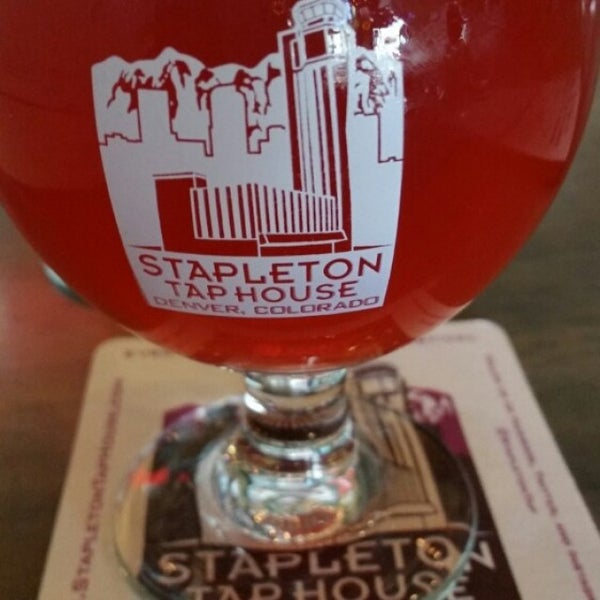 Photo taken at Stapleton Tap House by Tim A. on 9/23/2015