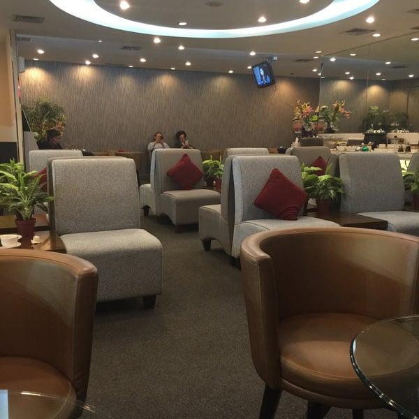 Photo taken at Citibank Lounge by Edward T. on 12/9/2014