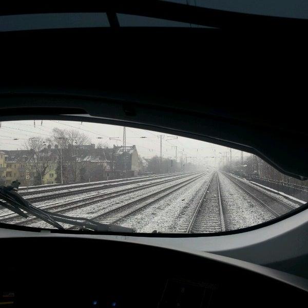 Photo taken at Duisburg Hauptbahnhof by Funda G. on 3/21/2013