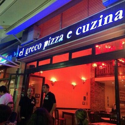 El Greco Pizza E Cucina Pizza Place