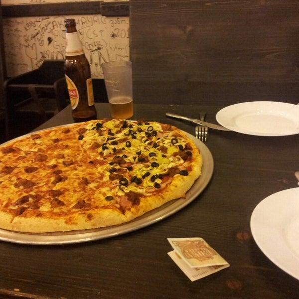 Photo taken at Ronny's Pizza Saburtalo | რონის პიცა საბურთალო by Malcolm MX T. on 9/5/2014