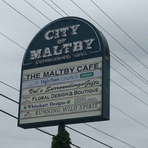 Photo taken at The Maltby Cafe by Lita A. on 5/12/2013
