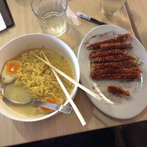 Try the Laksa Noodles and Spicy Porkchop. Very recommended if you prefer mild-mod spicy food. :)