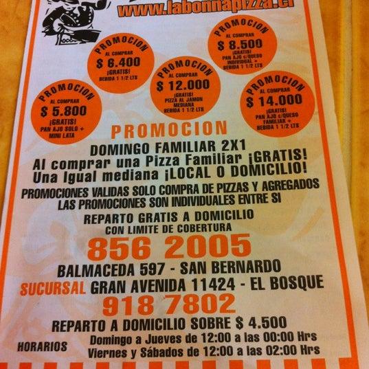 Hrs Bonn photos at la bonn a pizza now closed el bosque santiago de