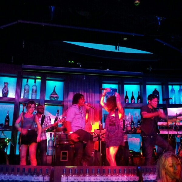 Photo taken at Blue Martini Brickell by .Yasemin Y. on 3/21/2013