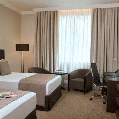 Featuring a state-of-the-art conference and business centre, the hotel is close to Madinat Zayed Shopping Centre and a short drive from the Corniche. http://bit.ly/16lXTXI