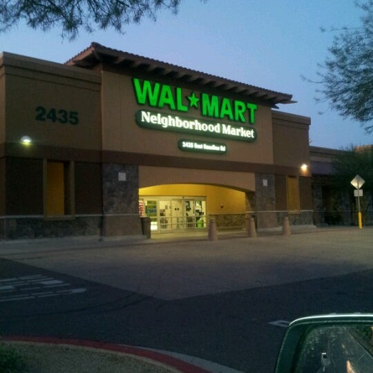 Walmart Neighborhood Market South Mountain Phoenix Az
