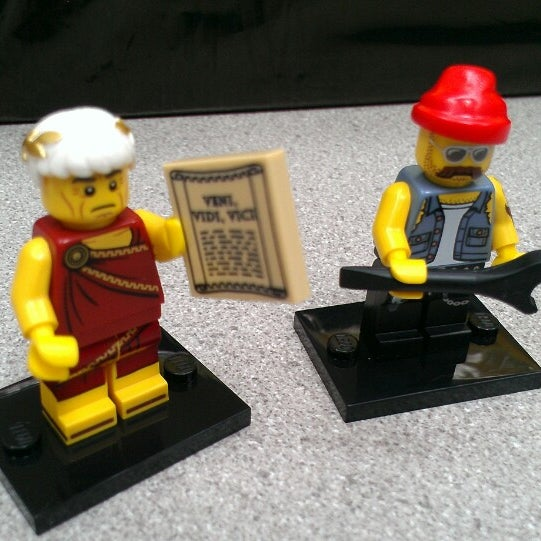 Photo taken at The LEGO Store by Julie C. on 6/1/2013