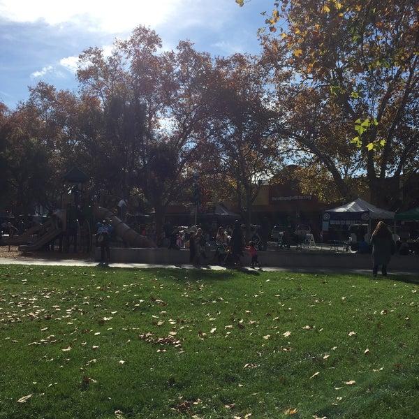 Photo taken at Todos Santos Plaza by Ramon G. on 11/21/2017