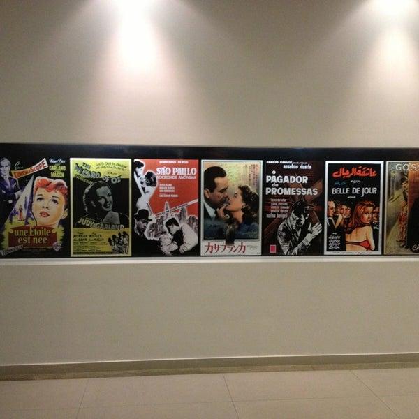 Photo taken at Cinespaço Beiramar by Alessandra G. on 1/31/2013