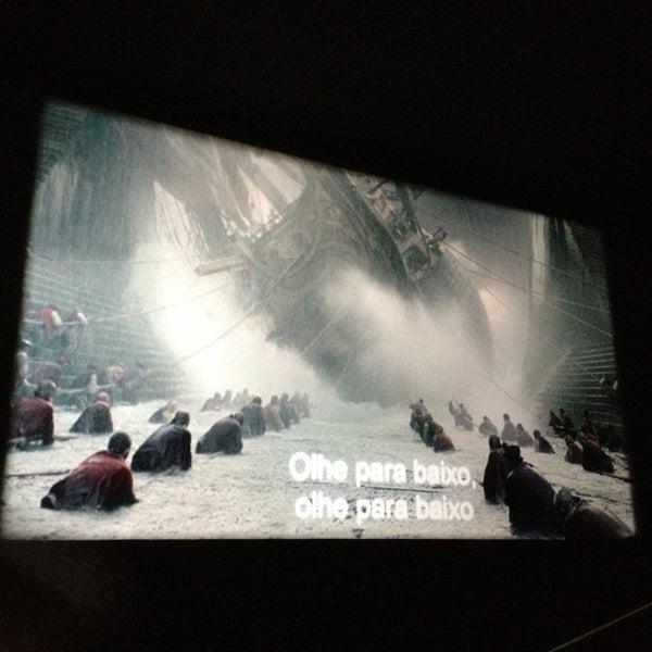 Photo taken at Cinespaço Beiramar by Alessandra G. on 2/15/2013