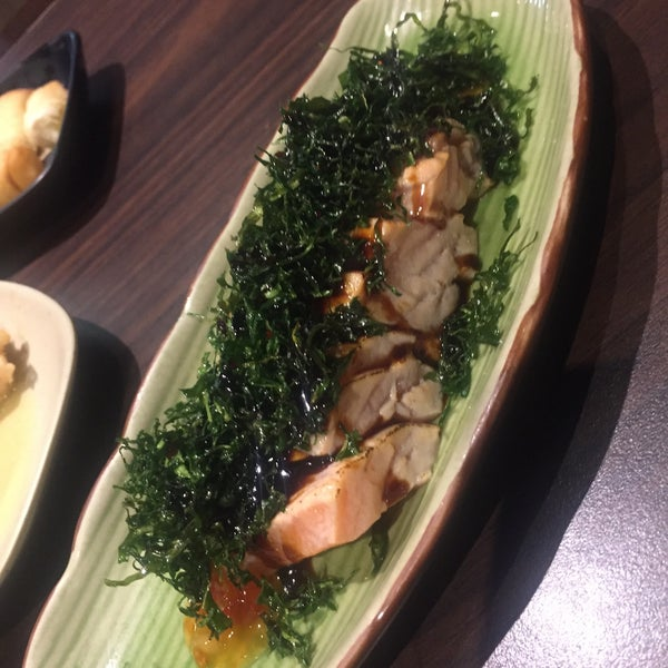 Photo taken at Joy Sushi by Marcello R. on 6/4/2016
