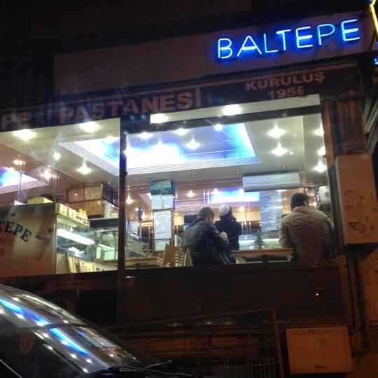 11/22/2012 tarihinde Osman E.ziyaretçi tarafından Baltepe Pastanesi'de çekilen fotoğraf