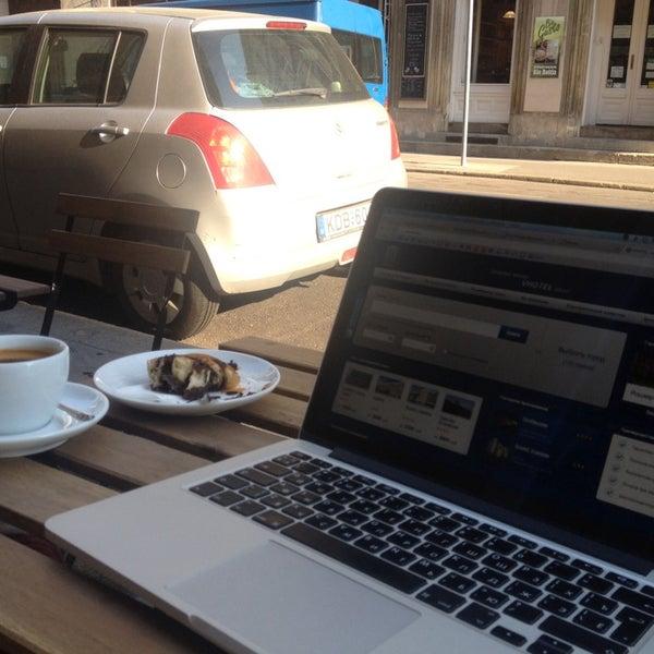 Photo taken at Espresso Embassy by Anton V. on 7/7/2014